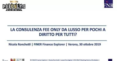 consulting fee-only consulenza